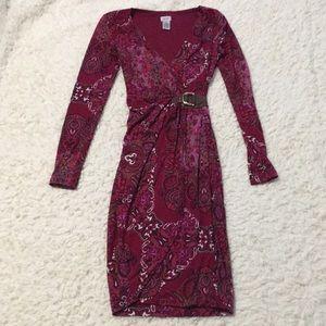 Cache paisley dress size XS